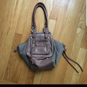 Anthropologie Lucky Penny Hobo Bag